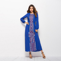 Islamic New Design Kaftan Dresses New Model Muslim Women Abaya Jibab Jalabiyah Dubai Abaya
