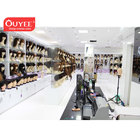 Modern Retail Beauty Shop Decoration Wig Display Showcase Furniture Hair Extension Display Rack Stand For Store Fixtures