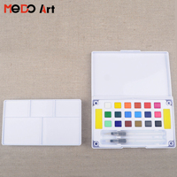 Great quality 18 colors watercolor paint set professional factory price