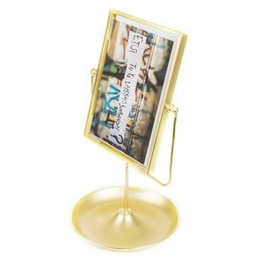 Multi aperture funny sexy plastic stand wall mount digital double sided glass photo frame 5 x 7