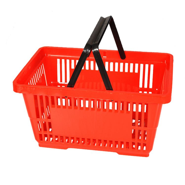 shopping trolley basket with handles
