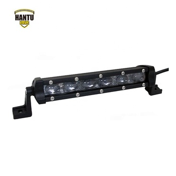 "2018 6d led offroad light bar 18w led light bar in yellow and white 6"" barras de led"