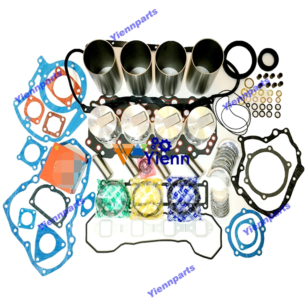 for Mitsubishi S4S S4SD overhual gasket kit engine rebuild F18B TCM Forklift