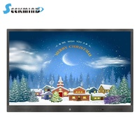 IR multi touch Aluminum frame portable touch screen panel,smart board without projector