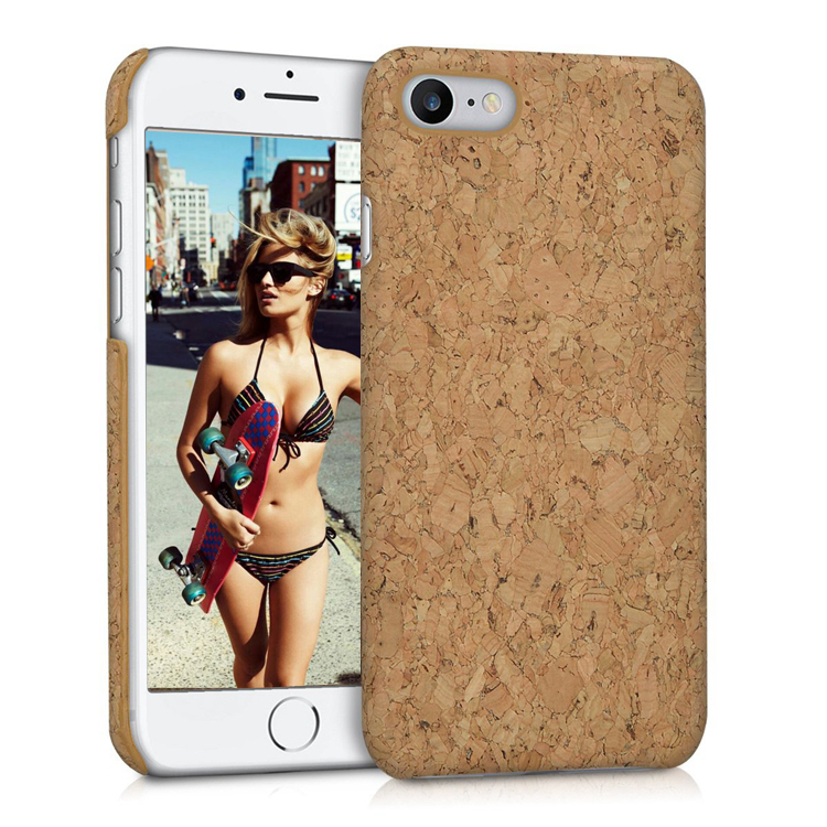 Top sale custom design blank cork case for iphone 7 8 фото