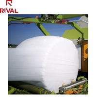 5 Layers Blown Film UV Protection Heavy Duty Black and White Poly Polythene Light Deprivation Silage Wrap Film
