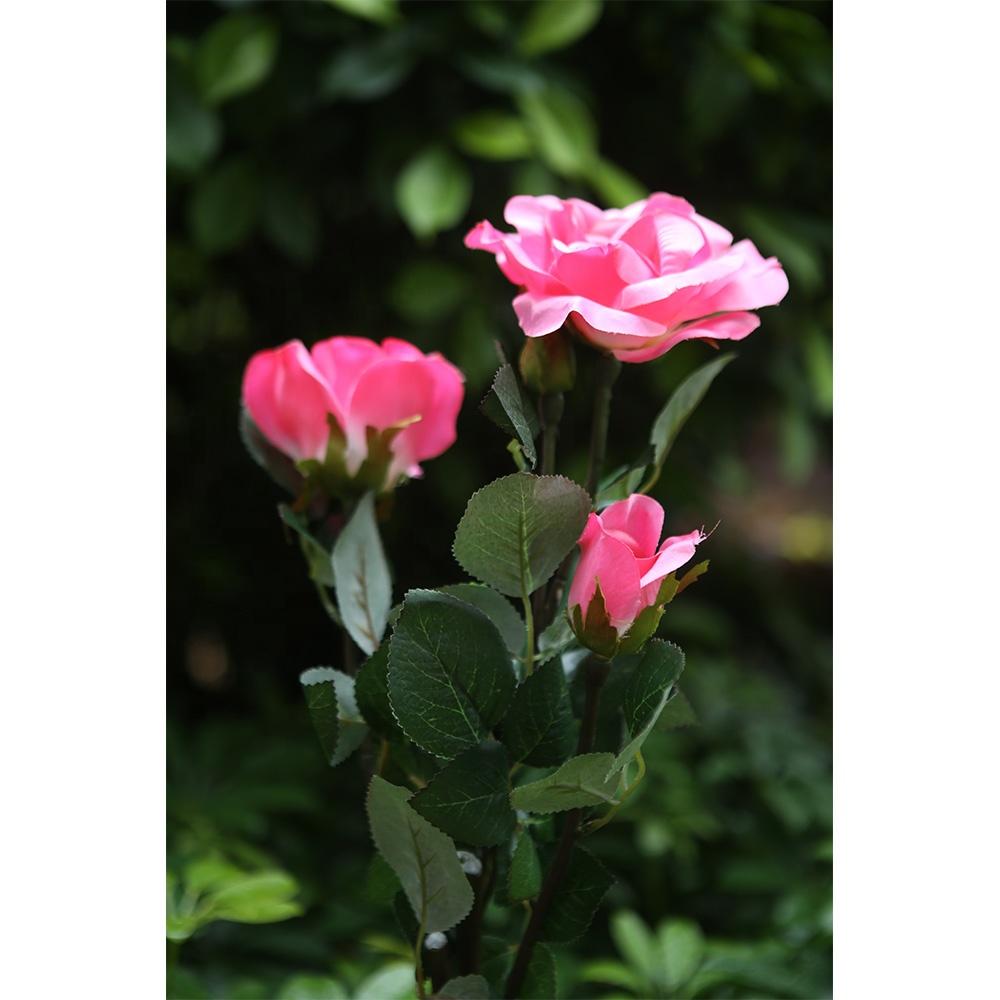 Grossiste fleur rose lampes solaires-Acheter les meilleurs fleur ...