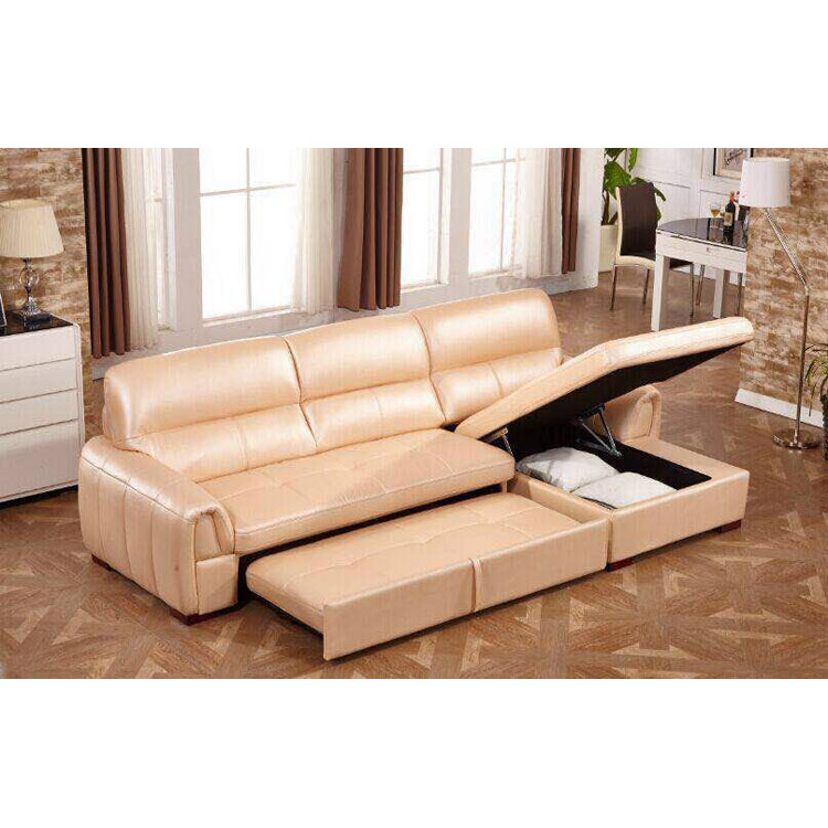Multi Functional L Shape Sofa With