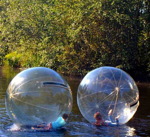 China Human Hamster Transparent Water Ball Inflatable Water Walking Ball Rolling Zorb Water Ball For Inflatable Swimming Pool