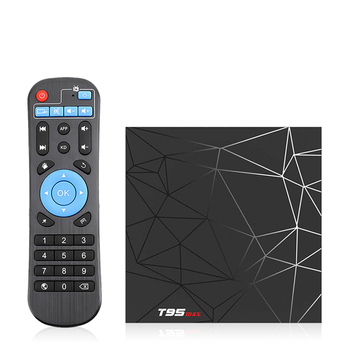 T95 Max 6K Android 9,0 Smart TV Box 4GB 32GB Quad Core 3D películas WIFI reproductor de medios
