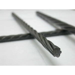 Lingqiao Railway Sleeper used Construction Material 9.3mm 7 wires pc Strand