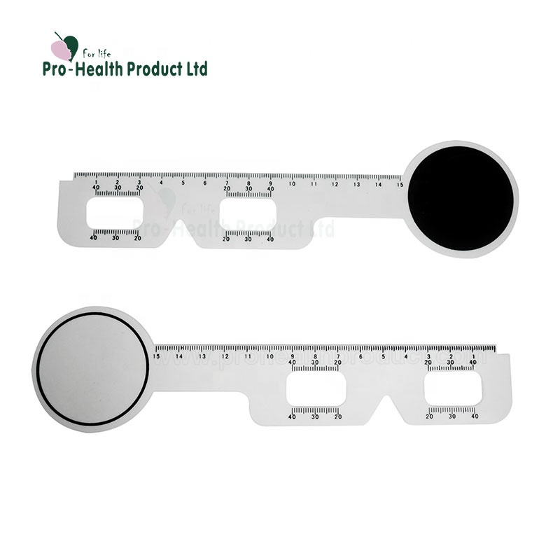 Ophthalmology Equipment Plastic Pupilometer Pd Meter Ruler Multifunction  Optical Eye Occluder - Buy Optical Occluder,Pupilometer,Pd Ruler Product on