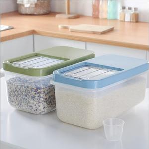 METIS Kitchen Food Cereal Grain Rice Candy Plastic Storage Container Box