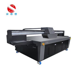 wide-format uv printer 2500*1300mm with ricoh gen5 print head best uv printer price
