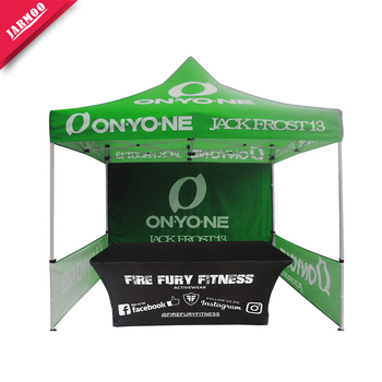 Square Shape Event Trade Show Promotional Commercial Aluminum Alloy Canopy Tent