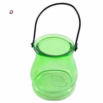 Factory direct sale jar candle glass