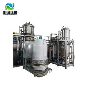 Cost Effective Chemicals Salt WasteWater Distilled Thermal Spray Evaporation by Vacuum Industrial Evaporator
