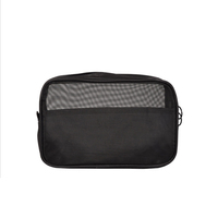 Male Travel Cosmetic Bag toiletry bag three-piece set mesh travel cosmetic bag