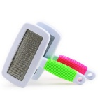 Pet grooming tool dog and cat hair brush for long-haired pets