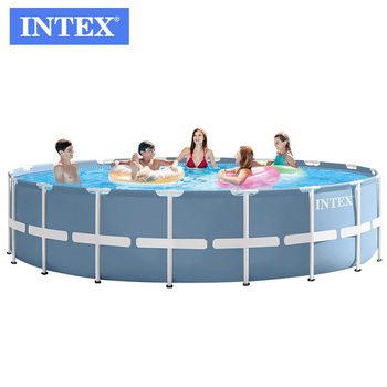 INTEX 26752 18FT X 48IN above ground steel pool with filter pump