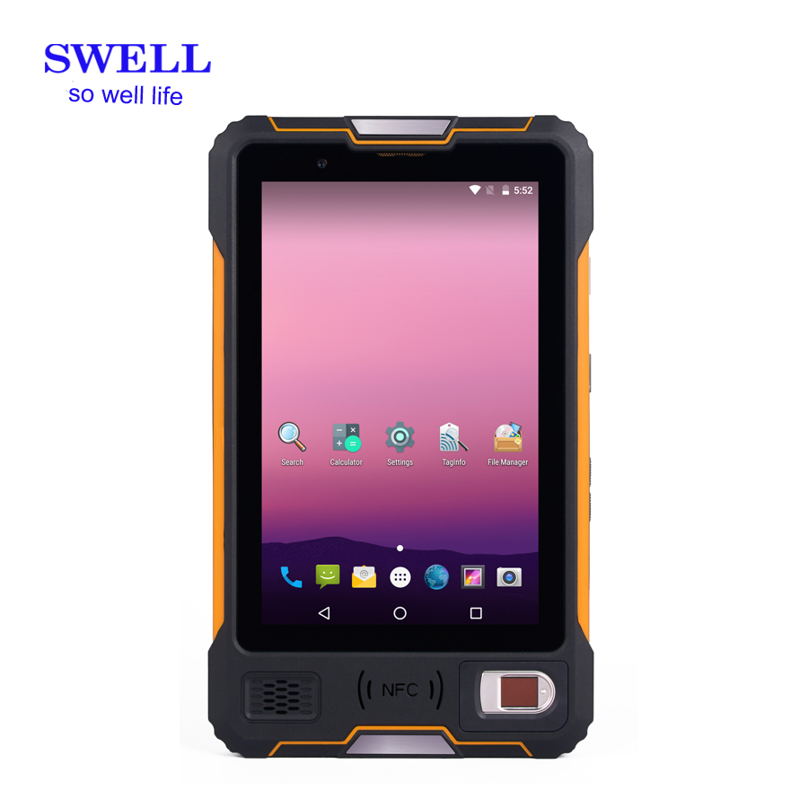 compatible with RFID NFC UHF barcode scanner  8 inch Octa core Intrinsically Safe and explosion proof industrial wearable tablet