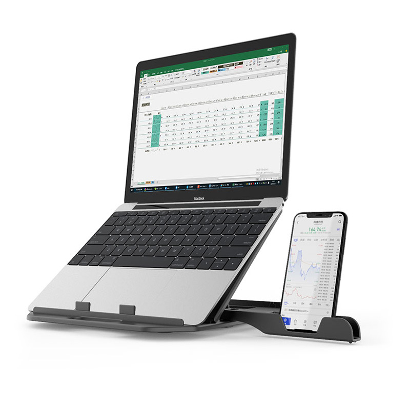 2020 Laptop Stand 360 Rotatable monitor notebook base holder portable mount Office school home laptop computer foldable stand