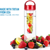 Easy carrying innovative products plastic popular jug container clear cartridge bottle portable