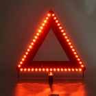 51PCS LED light warning triangle flashing/constant light accessory plug/batteries LED warning triangle
