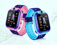 Cheapest 1.44 touch screen with GPS+LBS with SOS Smart Watch phone for kids