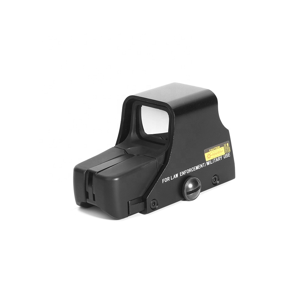 HY 551 high quality red dot sight scope tactical holographic optics sight, Black