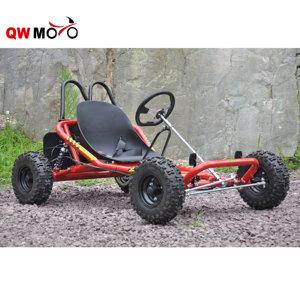 QWMOTO Racing adult Go Kart buggy 196CC 200CC cheap gas powered go karts  for sale