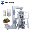 Double Servo Motor Used Coffee Bean Vacuum Valve Bag Packing Machine for Plastic Bags