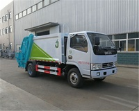 3 ton garbage collection dump tipper truck
