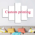 Welcome Customized We can provide any picture to make 3-5 pieces of decorative custom canvas print wall art