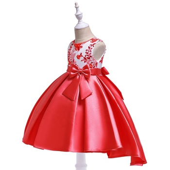 2dc3704dc Child dress wholesale fashion kids party wear birthday dress for girl of 7  years old