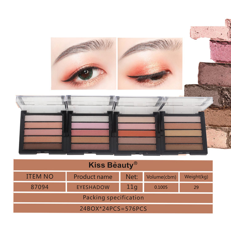 Private label Sombra de ojos groothandel make-up oogschaduw palet