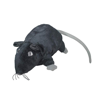 new custom 9 Inches Gosig Ratta Rat Black Mouse Stuffed Animal Soft plush mouse for cat