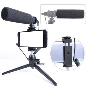 MAONO All-metal Condenser Shotgun Microphone with Vlog Tripod microphone  kit