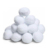 Good white artificial indoor snowball fight soft snowball for Christmas