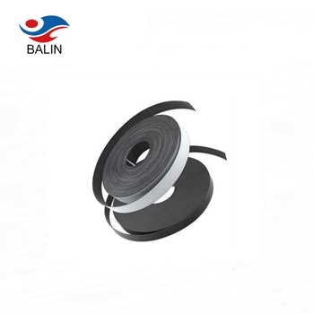Iso9001 Rare earth adhesive rubber strong strip tape magnetic