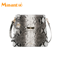 MINANDIO Guangzhou Women's Summer Chain Fashion Elegant Pu Handbags Shoulder Bag