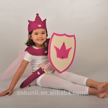 High Quality toy Swords And Shields can Dress up your little princess