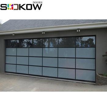 Aluminium Glass Garage Doors Overhead Garage Door With Glass Window