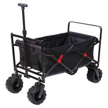 Heavy Duty พับ All Terrain Beach Utility Wagon รถเข็น