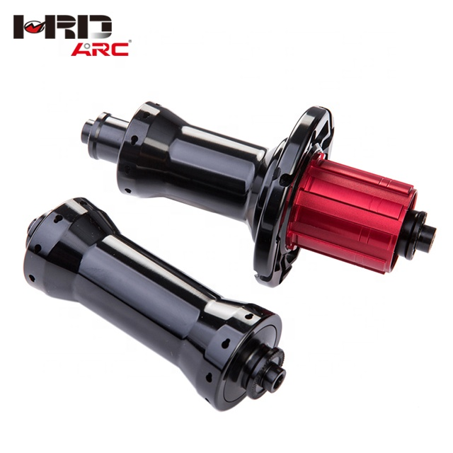 Factory price china manufacturers CNC five-axis machining straight pull keyhole RT - 035F / R light road bike bearing hub, Customized as your request