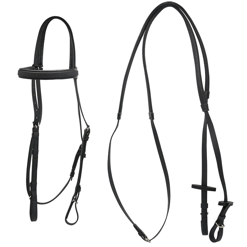 Waterproof PVC Coated And TPU Coated Racing Bridle, Equestrian Horse Racing Bridle, Customized