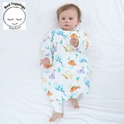 Muslin sleeping bag for newborn baby kids children 100% cotton with active print eco friendly