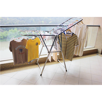 High Quality Folding Indoor Stainless Steel Cloth Dryer Stand Foldable Hanging Laundry Airer