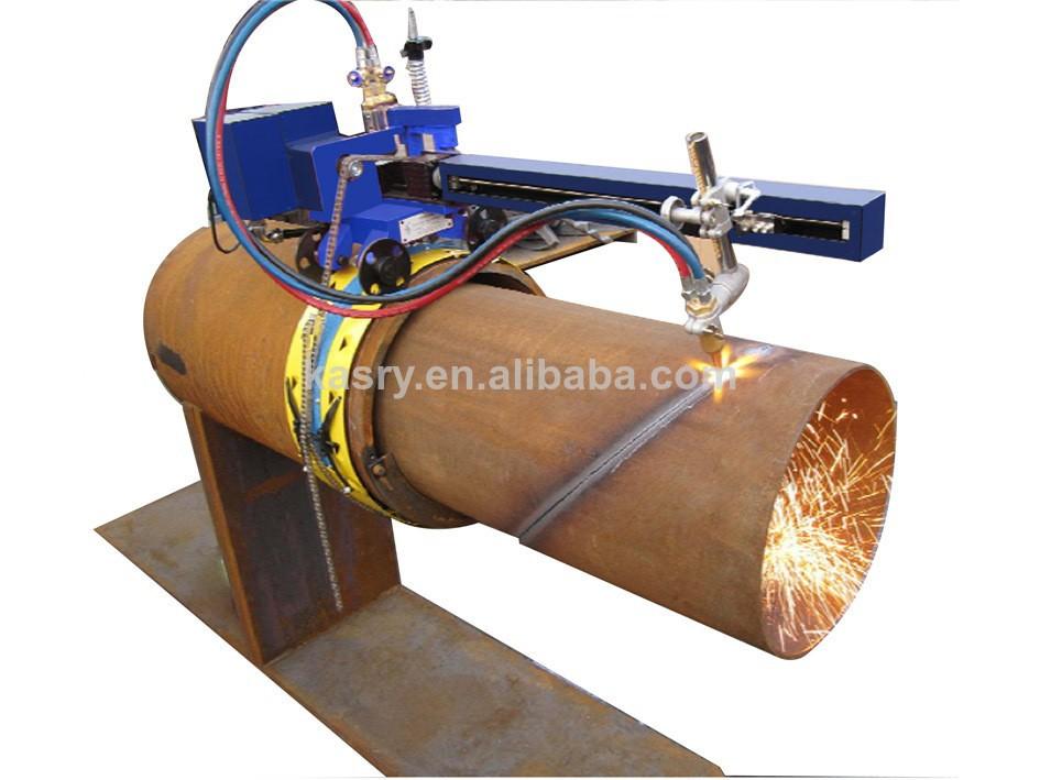 Easy operation cnc portable gas plasma steel pipe profile