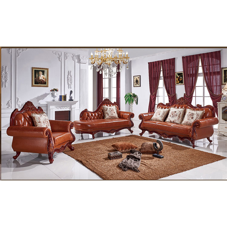 Factory Outlet Italy Leather Sofa